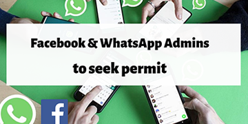 Plans to license WhatsApp and Facebook group admins