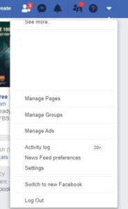 New Facebook look