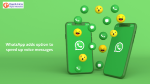 WhatsApp adds option to speed up voice messages