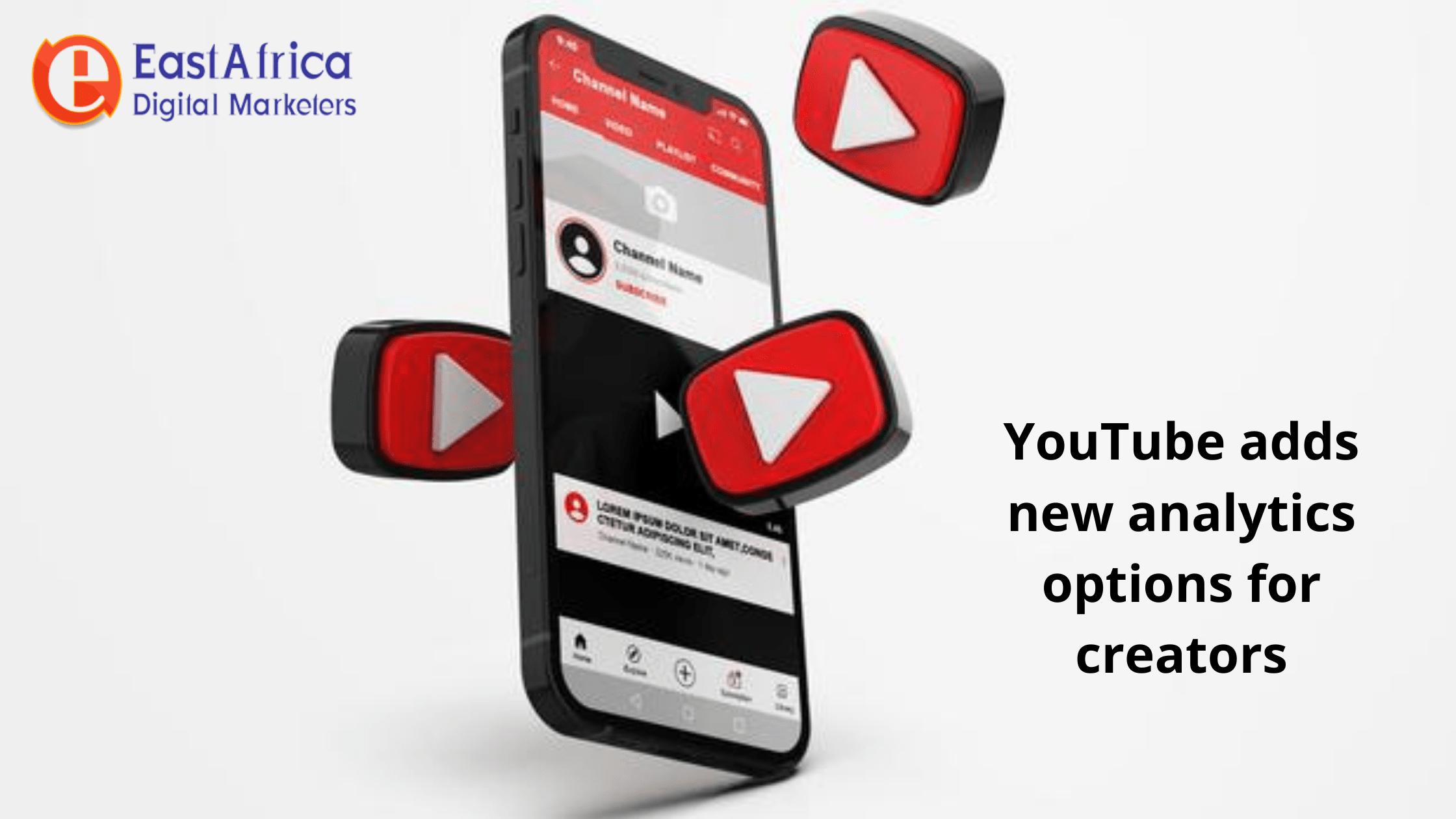 Youtube adds new analytics options for creators